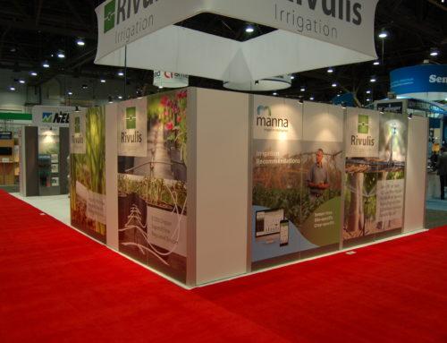 Primeira estreia pública nos EUA – The Irrigation Association Show, em Las Vegas